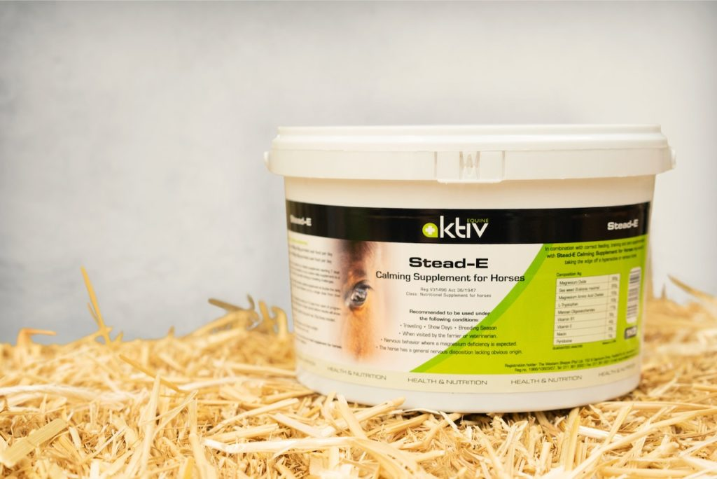 Photo of Aktiv Equine Stead-E Calming Supplement